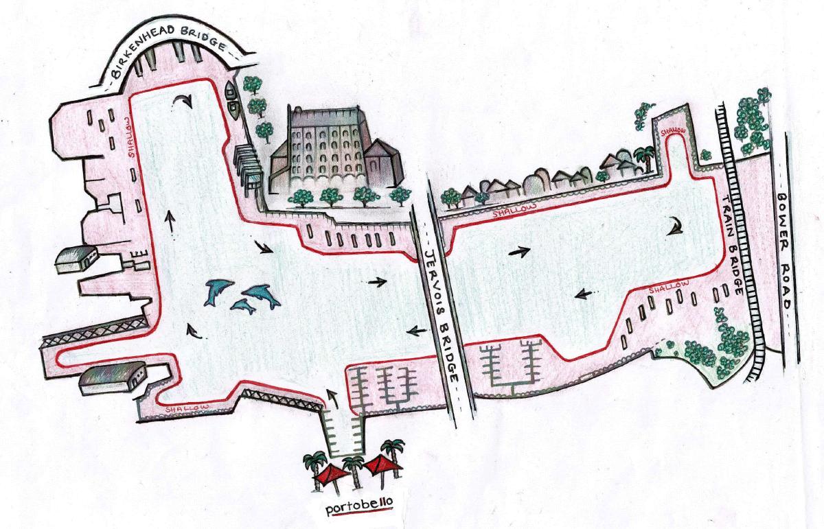 Portobello-River-Cruiser-River-Map
